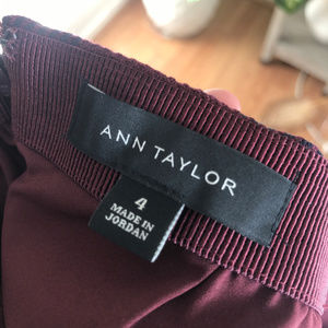 Ann Taylor Skirts - Ann Taylor Plaid Wool Penci Skirt